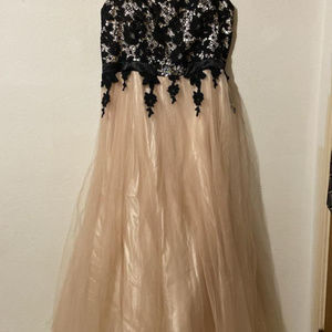 Masquerade Dresses - Strapless prom dress
